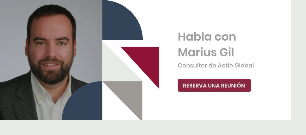 Habla con Marius Gil, consultor de Transformación Digital en Actio Global